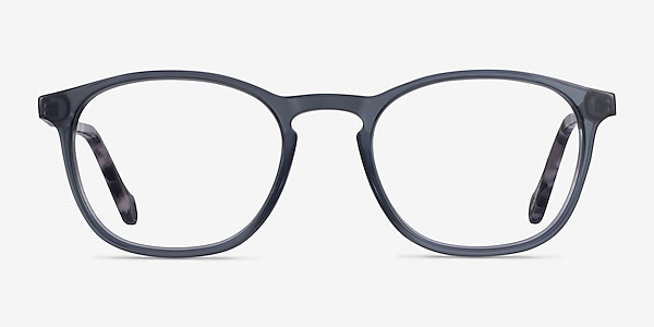 Skate Clear Gray Tortoise Acétate Montures de lunettes de vue