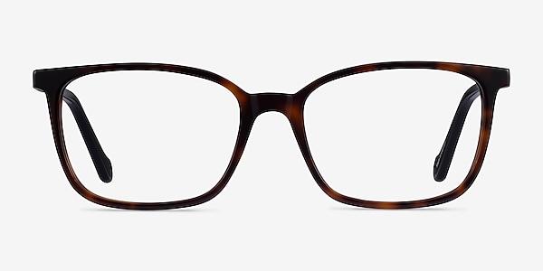 Travel Tortoise Black Acétate Montures de lunettes de vue