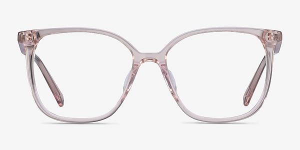 Latte Clear Beige Acetate Eyeglass Frames