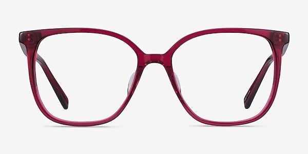 Latte Raspberry Acétate Montures de lunettes de vue