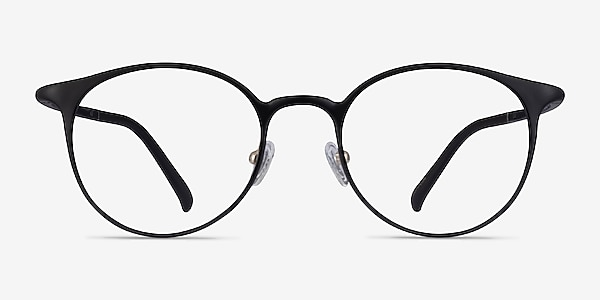 Solace Matte Black Plastique Montures de lunettes de vue