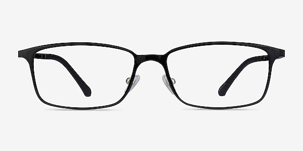 Modest Noir Plastique Montures de lunettes de vue