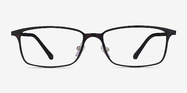 Modest Matte Tortoise Plastic Eyeglass Frames