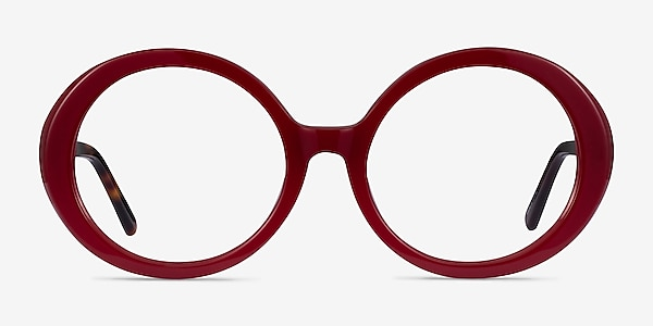 Voila Burgundy Tortoise Acetate Eyeglass Frames