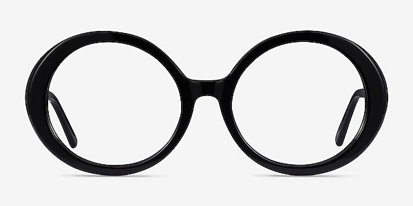 Voila Black Acetate Eyeglass Frames