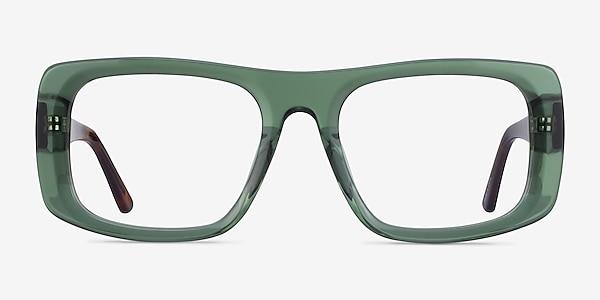 Sonny Clear Green Tortoise Acetate Eyeglass Frames