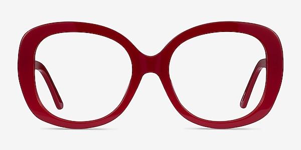 Tess Burgundy Acetate Eyeglass Frames