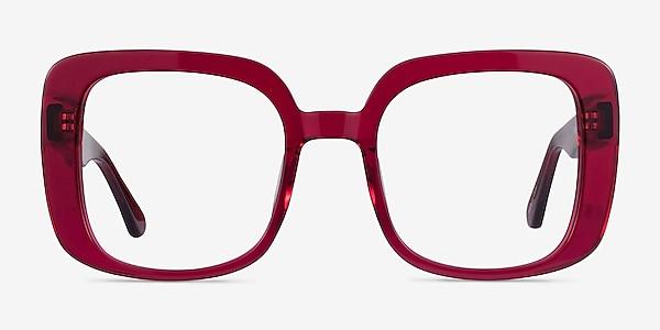 Calista Raspberry Acétate Montures de lunettes de vue