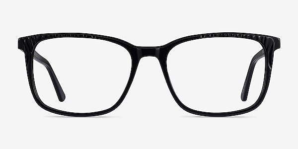 Meridian Black Acetate Eyeglass Frames