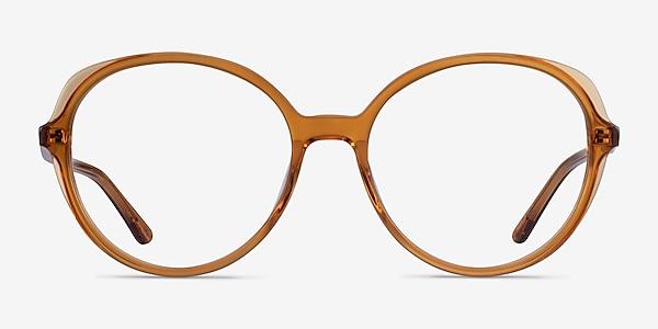 Pure Orange Acétate Montures de lunettes de vue