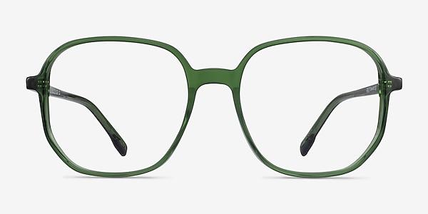 Natural Clear Green Acetate Eyeglass Frames