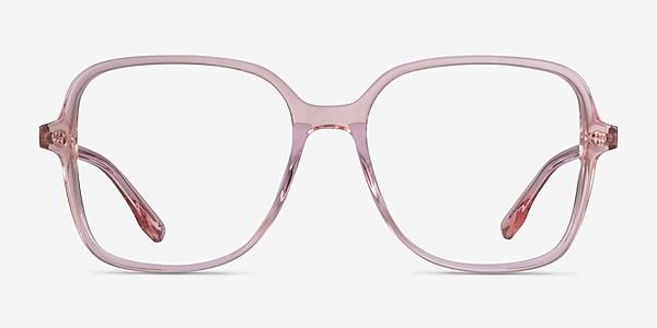 Bloom Clear Pink Acetate Eyeglass Frames