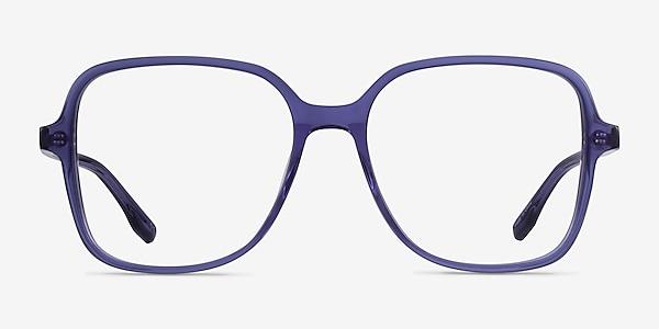 Bloom Clear Purple Acetate Eyeglass Frames