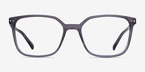 Conscious Clear Gray Acetate Eyeglass Frames