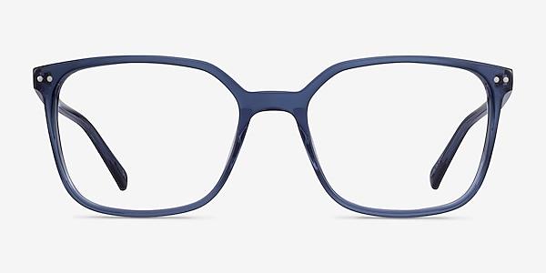 Conscious Clear Blue Acetate Eyeglass Frames