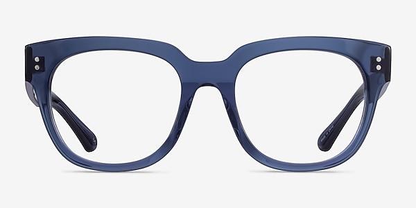 Life Clear Blue Acétate Montures de lunettes de vue