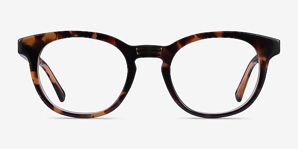 Hoop Tortoise Gold Acétate Montures de lunettes de vue