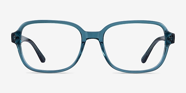 Patina Clear Blue Acetate Eyeglass Frames