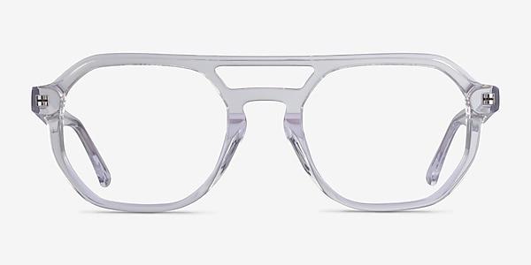Stratum Clear Acetate Eyeglass Frames