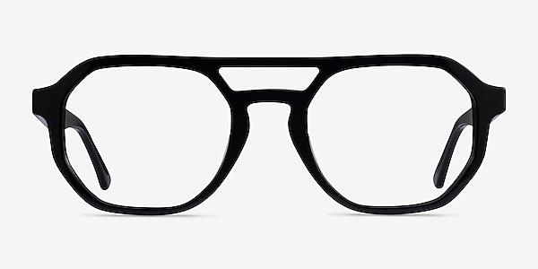 Stratum Noir Acétate Montures de lunettes de vue