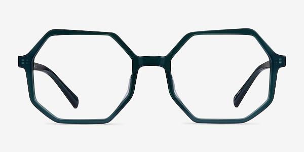 Glister Iridescent Dark Green Acetate Eyeglass Frames