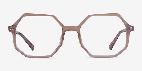 Glister Iridescent Purple Acétate Montures de lunettes de vue