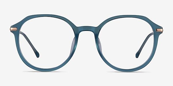 Original Iridescent Blue Acetate Eyeglass Frames