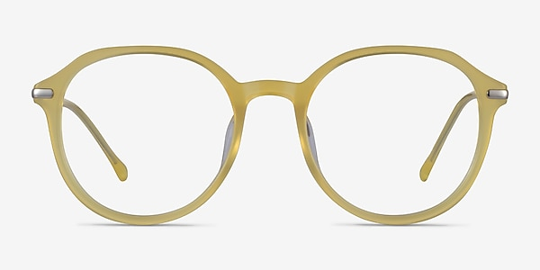 Original Iridescent Yellow Acetate Eyeglass Frames