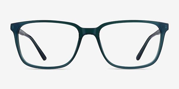 Prismatic Iridescent Green Acetate Eyeglass Frames