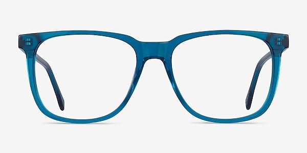 Latitude Clear Blue Acétate Montures de lunettes de vue