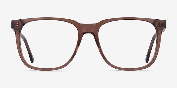 Latitude Clear Brown Acétate Montures de lunettes de vue