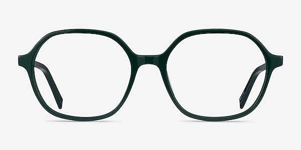 Pigment Green Acetate Eyeglass Frames