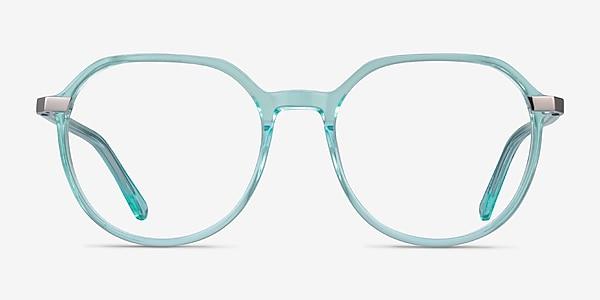 Niagara Clear Green Acetate Eyeglass Frames