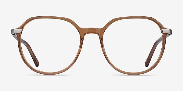 Niagara Clear Brown Acetate Eyeglass Frames