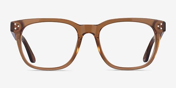 Adriatic Clear Brown Acetate Eyeglass Frames