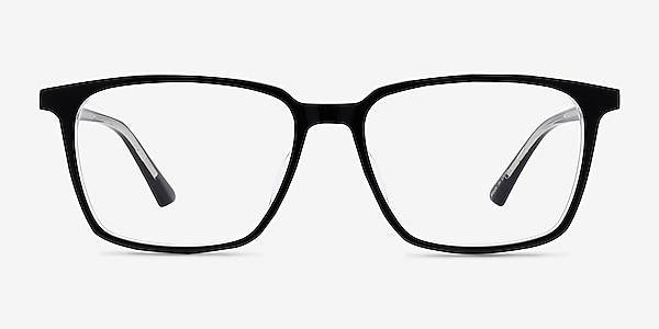 Juliana Black   Clear Acetate Eyeglass Frames