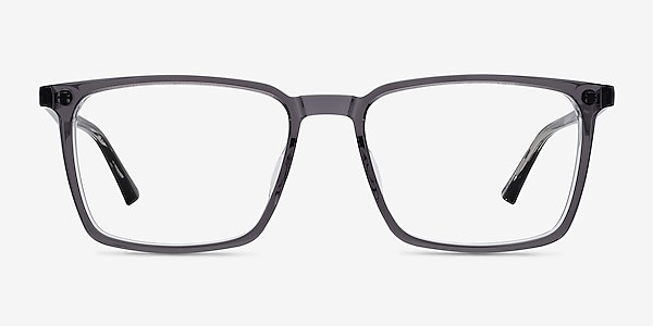 Fjord Clear Gray Striped Acetate Eyeglass Frames