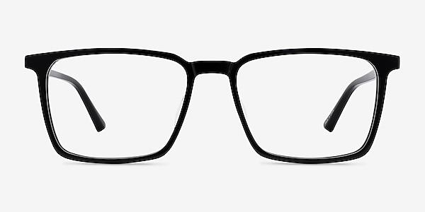Fjord Noir Acétate Montures de lunettes de vue