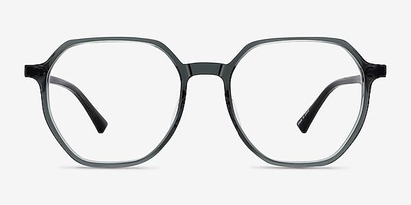 Tiki Clear Gray Acetate Eyeglass Frames