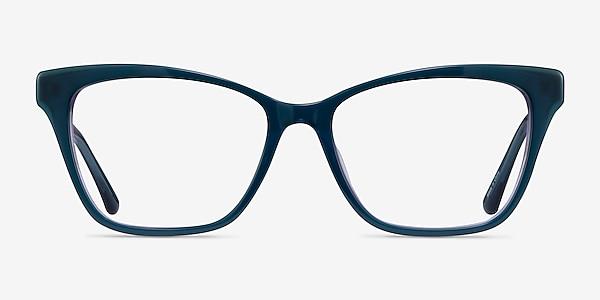 Jelly Teal Purple Acetate Eyeglass Frames