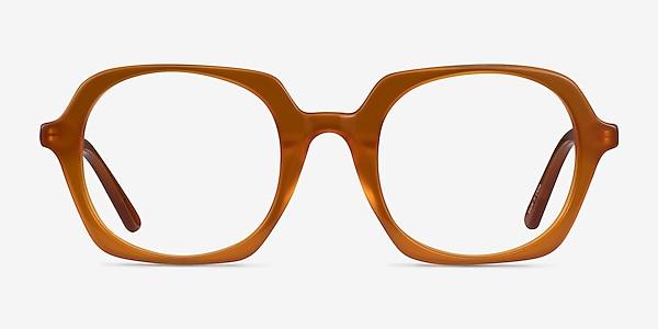 Faubourg Orange Acetate Eyeglass Frames