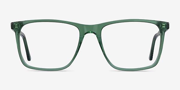 Francisco Clear Green Acetate Eyeglass Frames