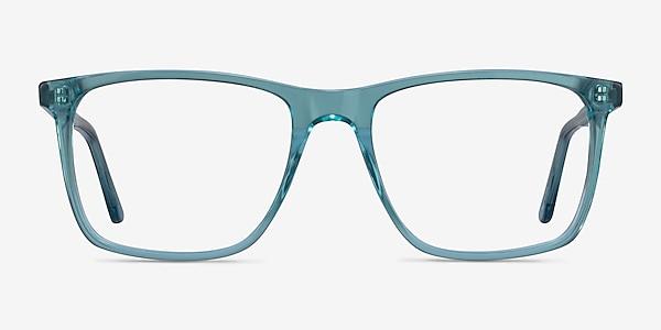 Francisco Clear Blue Acétate Montures de lunettes de vue