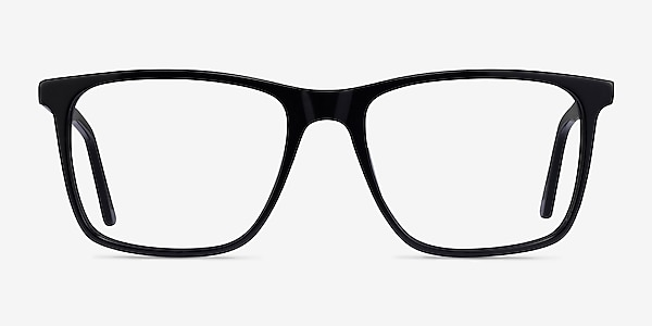 Francisco Black Acetate Eyeglass Frames