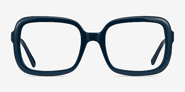 Provence Dark Blue Acétate Montures de lunettes de vue