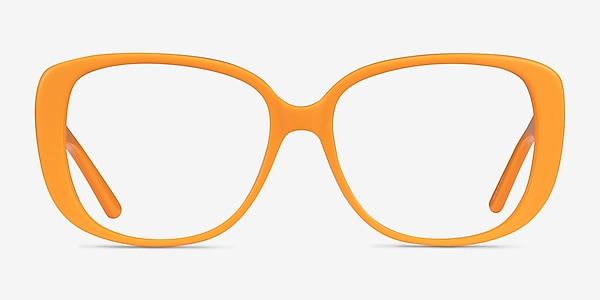 Mileva Orange Acétate Montures de lunettes de vue