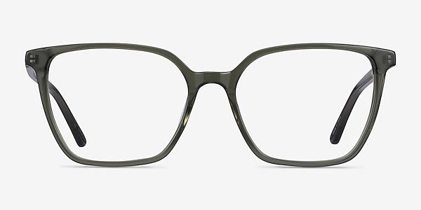 Nobel Clear Green Acetate Eyeglass Frames