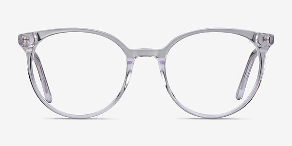 Janice Clear Acetate Eyeglass Frames