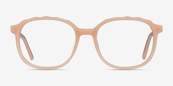 Maria Clear Nude Acétate Montures de lunettes de vue