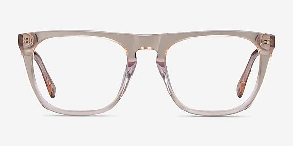 Zephyr Clear Brown Acetate Eyeglass Frames